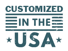 customized in the USA