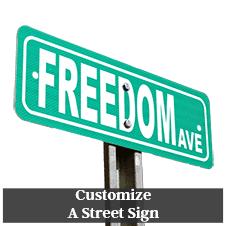 Custom Street Signs
