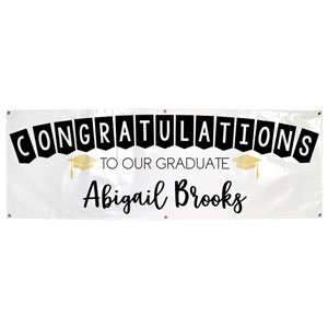 Congrats to Our Graduate Custom Banner
