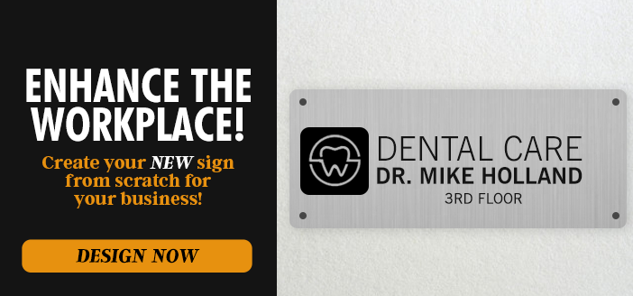 Design your own signs from scratch or shop our pre-designed templates