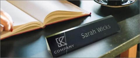 Shop Office Name Plates
