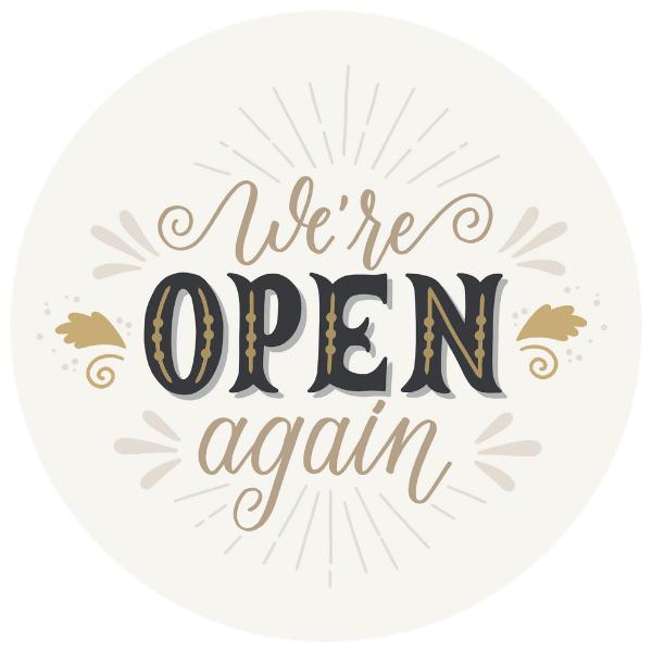 We're Open Again 8